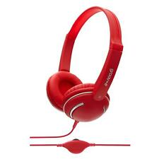 Groov-e DJ Style Headphone for Kids for MP3 / Smartphone / Tablet / PC - Red