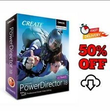 CyberLink powerdirector ultimate 18🔥full version🔑 life time🚀INSTANT DELIVER🚀