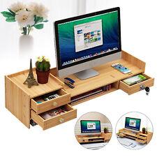 Desk Organizer With Lock Office Desk Organizermultifunctional Wooden Storage