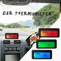 DC 12V Digital Car Thermometer Tester LCD Backlight Vehicle Temperature Meter