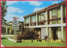 1980 photo postcard Swan Hill Motor Inn Victoria Australia