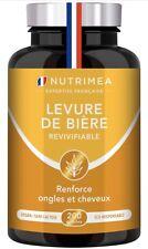 LEVURE DE BIERE REVIVIFIABLE - Levure active - Enrichie en Zinc & Sélénium