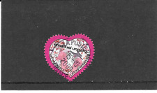 FRANCE 2009. VALENTINE. HEART EMANUEL UNGARO. STAMP SELFADHESIVE SEAL PINK
