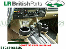 GENUINE LAND ROVER CUP HOLDER DISCOVERY RANGE ROVER CLASSIC SET NEW STC53156SUC
