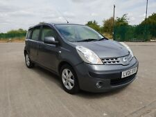 Nissan Note SE Automatic Auto 5 door 1 LADY OWNER Low mileage full MOT 99p start