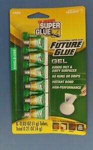 The Original Super Glue Single Use Super Glue Gel.  5-1 gram tubes  NEW