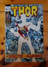 Thor Comic #169 Silver age Kirby Origin of Galactus Key 1969 Marvel