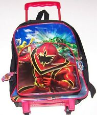 Power Rangers Mystic Force Backpack on Wheel NEW with Tag 2006 school bag
