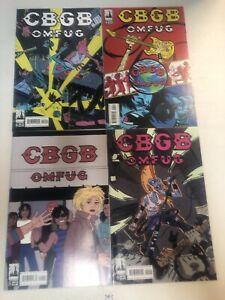 CBGB (2010) #1 2 3 4 1-4 (VF/NM) Complete Set