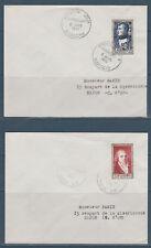 enveloppe 1er jour série des 6 célébrités du 19è siècle Napoléon Musset 1951
