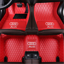 FIT 2003-2021 Audi All-weather waterproof non-slip PU leather floor mat