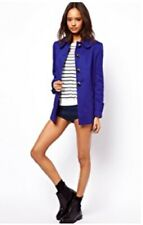 ASOS A-Line Button Coat UK 14 BRAND NEW WITH TAGS