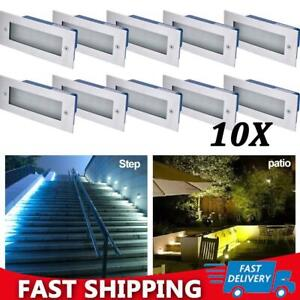 LED Wall Lights Stainless Steel Mini Brick Outdoor Wall Lights Garden Recessed