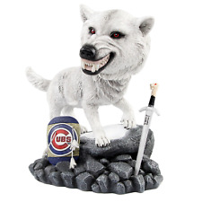 Chicago Cubs Game of Thrones Direwolf Bobblehead MLB