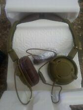 Skullcandy Lowrider On-Ear Foldable Stereo Headphones w/Mic Headset( army green)