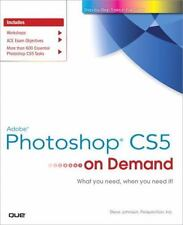 NEW - Adobe Photoshop CS5 on Demand by Johnson, Steve; Perspection Inc.