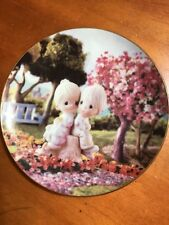 """1993 Precious Moments Collectible Plate """"Love One Another""""-Sam Butcher-Limited E"""