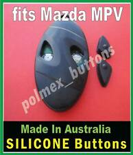 fits Mazda MPV remote key - Replacement Silicone key BUTTONS (1 set)