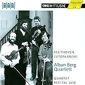Lutoslawski/ Beethoven: Quartet Recital [Alban Berg Quartet] [Hanssler: 93.722],