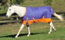 "HORSE & WESTERN TACK McALLISTER WATERPROOF TURNOUT RUG HEAVY WEIGHT  6' 9"""