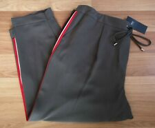 M&S Drawstring Side Stripe Trousers 20/22/24 RRP £35