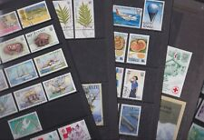 Tuvalu Islands 1983-92 Used FU Full Sets Crabs Ships Red Cross Captain Cook Fern