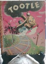 Vintage TOOTLE Little Golden Book Scroll Back Cover (G/C)