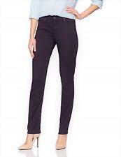 Women's Lee Rebound Slim-Fit Straight-Leg Jeans,18 Medium, Regal (Purple), NWT