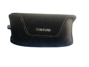 TOM FORD SUNGLASSES EYEGLASSES OPTICAL LARGE BROWN CASE ONLY