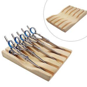 Hairdresser Hair Scissor Holder Display Organiser Stand Case Box Tool New