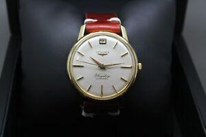 Longines Flagship Cal. 341 Vintage Gold 18K 750 Vintage Automatic Ref. 2408