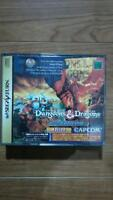 Sega Saturn video game Dungeons Dragons Collection Japan SS Used F/S