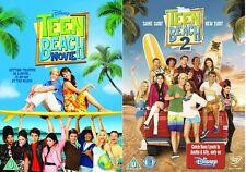 Teen Beach Movie 1 + 2 (Ross Lynch Disney) R4 DVD New