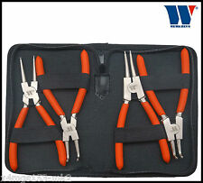 Werkzeug - Circlip Pliers Set - 4 Pcs, 150 mm, 1.50 mm Tips - Pro Range, 41112