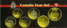2017 CANADA Classic Year Set Plated Gold 24k