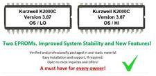 Kurzweil K2000 K2000R K2000RS OS Upgrade v 3.87 Calvin Firmware Update Eprom