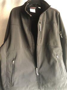 Black Diamond Double Diamond Fleece Lined Stretch Softshell Ski Jacket Large