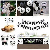 Cartoon Panda Theme Foil Balloons Birthday Party Banner Kid Inflatable Toy