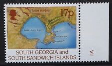 SOUTH GEORGIA 1994 Larsen 17p WATERMARK Crown to Right of CA. MNH. SG251a.