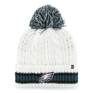 Philadelphia Eagles White Sorority Pom Hat '47 Brand