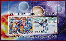 Tajikistan  2015  Space  Y. Gagarin  Avicenna  S/S  MNH