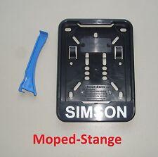Simson Kennzeichen Wechsel Kennzeichenhalterung Verstärkung Schwalbe S51 SR2 usw