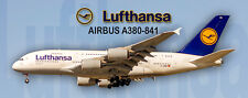 Lufthansa Airlines Airbus A380 Photo Magnet (PMT1659)
