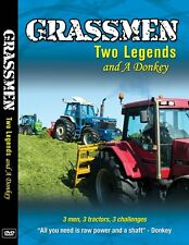 GRASSMEN Two legends and a Donkey DVD 3 Men, 3 Tractors, 3 Challenges
