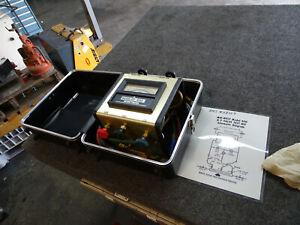 Mid-west Instrument Backflow 5 Valve Test Kit Model 830, w/ Hoses