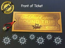 POLAR EXPRESS TICKET Believe 15mm Silver metal jingle Bell Great Christmas Gift