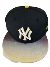 New Era 59Fifty NY Yankees Glow in the Dark Fitted Hat (Yellow/Black) 7 3/8.
