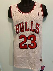 Chicago Bulls 23 Michael Jordan Basketball Jersey Men White NWT