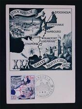 Monaco MK 1961 Ralley Monte Carlo maximum carta carte MAXIMUM CARD MC cm c6762