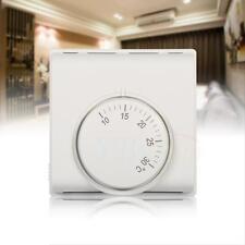 Thermostat Mécanique Contrôleur de Température + Interrupteur Pour Maison Bureau